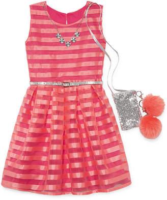 Knitworks Knit Works Sleeveless Party Dress Girls