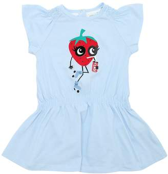 Fendi Strawberry Cola Cotton Jersey Dress