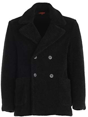 Barena Oversized Collar Peacoat