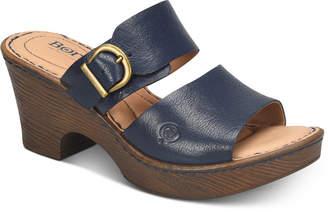 Børn Carrabelle Wedge Sandals Women's Shoes