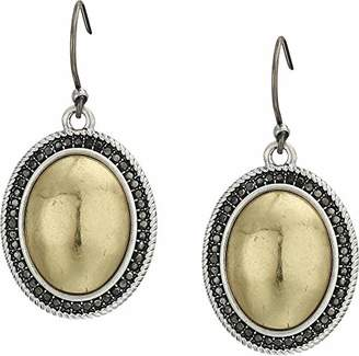 Lucky Brand Women's Pave Gem Drop Earrings