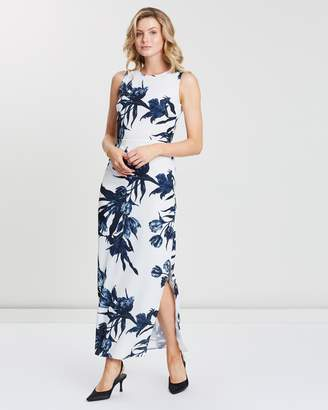 Dorothy Perkins Linear Floral Maxi Dress