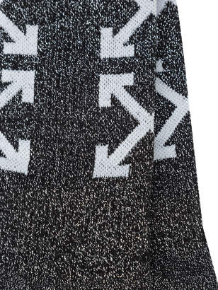 Off-White Off White Arrows logo knit socks