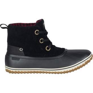 Sperry Top Sider Schooner 3-Eye Lace Up Wool Boot - Women's