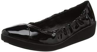 445a18347c47 FitFlop Women s F-Pop Ballerina Patent Ballet Flats