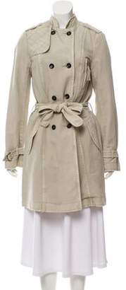Zadig & Voltaire Double-Breasted Trench Coat