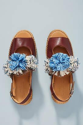 Naguisa Pommed Espadrille Sandals