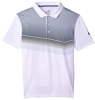 PUMA Golf Kids Road Map Polo JR Boy's Clothing