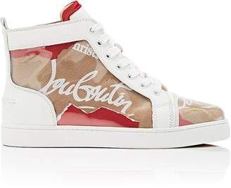 Christian Louboutin Women's Louis Woman Flat PVC Sneakers