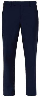 Paul Smith Soho Wool And Mohair Blend Suit Trousers - Mens - Navy