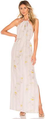 Raquel Allegra Silk Halter Dress