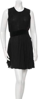 Chloé Pleated Flare Dress