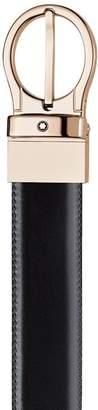 Montblanc Reversible Brown/Black Leather Belt