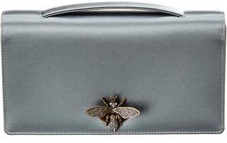 Christian Dior Bee Satin Clutch
