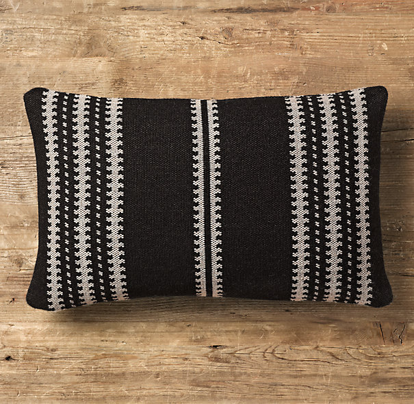 Moroccan Atlas Stripe Lumbar Pillow