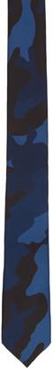 Valentino Blue Camo Tie $190 thestylecure.com