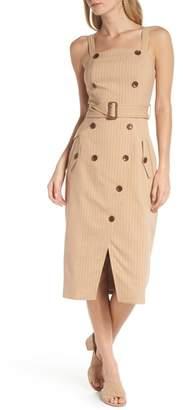 1901 Button Apron Dress