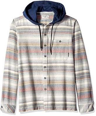3618c6e37 Billabong Men's Baja Hooded Flannel Shirt