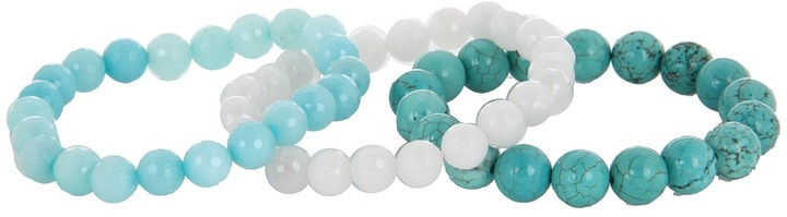 The Cool People Dee Berkley for Ombre-Turquoise Bracelet (Turquoise/White) - Jewelry