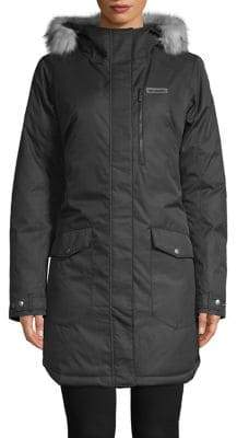 Columbia Suttle Mountain Sherpa Trim Insulated Long Jacket