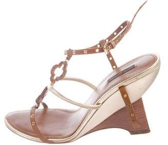 Louis Vuitton Andalucia Wedge Sandals