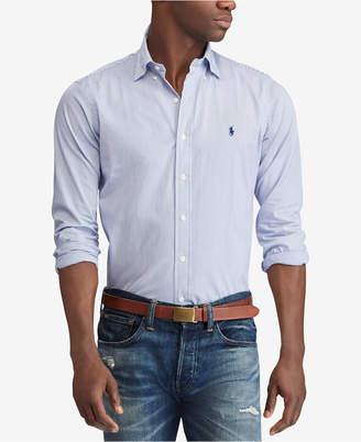 Polo Ralph Lauren Men's Slim Fit Poplin Shirt