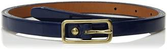 Circa Leathergoods Women's Smooth Patent Leather Belt