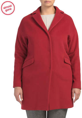 Made In Italy Wool Coat