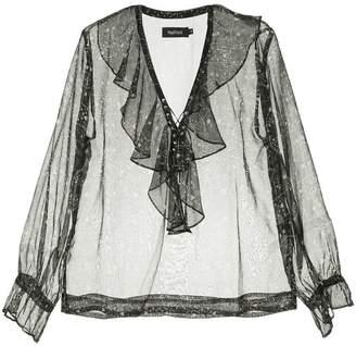 Magali Pascal transparent blouse
