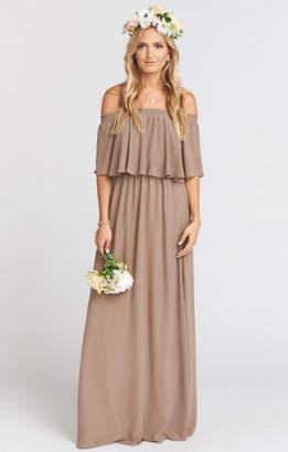 Show Me Your Mumu Hacienda Maxi Dress ~ Dune Chiffon