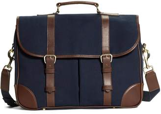 Brooks Brothers Canvas Messenger