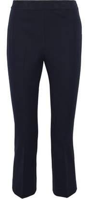 Elie Tahari Kate Cropped Cotton-Blend Twill Slim-Leg Pants
