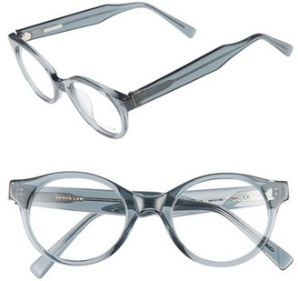 Women's Derek Lam 45Mm Optical Glasses - Grey Smoke