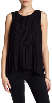 SUSINA Sleeveless Chiffon Pleated Blouse (Petite) $24.97 thestylecure.com