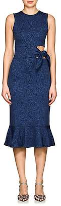 Opening Ceremony WOMEN'S LOTUS MARLED KNIT CUTOUT DRESS