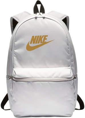 ... Nike Heritage Metallic-Logo Backpack 426adbc117ec3