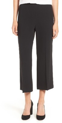 Women's Cece Moss Crepe Crop Trousers $89 thestylecure.com