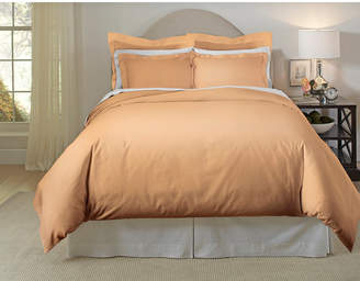 Pointehaven Solid 3-Pc. King/California King Duvet Set, 620 Thread-Count Cotton Bedding