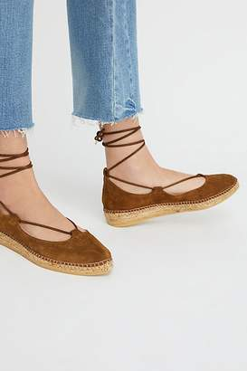 Free People Fp Collection Suede Paloma Espadrille