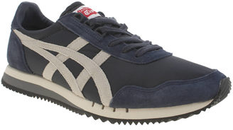size 40 6e8c6 eac68 Onitsuka Tiger by Asics Mens Navy & Grey Dualio Trainers