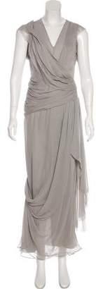 J. Mendel Silk Draped Gown