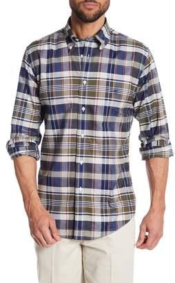 Brooks Brothers Oxford Regent Plaid Regular Fit Shirt