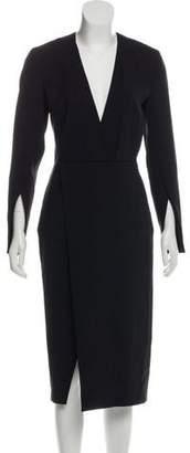 Protagonist Tailored Midi Dress w/ Tags