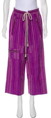 Marc Jacobs High-Rise Silk Pants