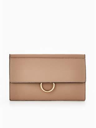 Very Circle Detail Clutch Bag