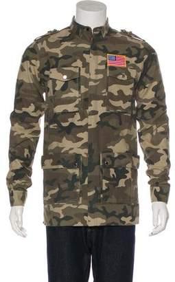 Balmain Camouflage Field Jacket