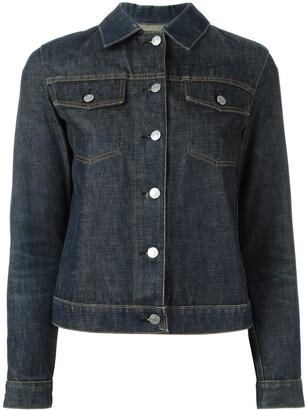 Helmut Lang Pre-Owned 1999 raw denim jacket
