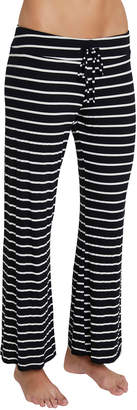 Eberjey Striped Wide-Leg Lounge Pants