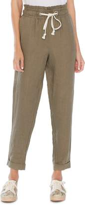 Vince Camuto Drawstring Linen Pants
