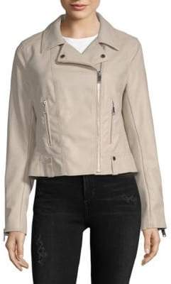 French Connection Textured Zippered Jacket